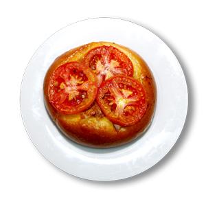 Sardine & Tomato Bun
