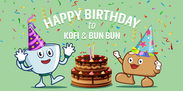 Happy Birthday BunBun & Kofi