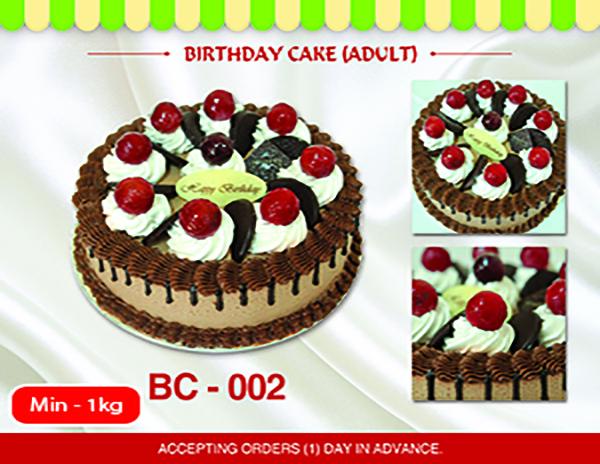 BC 002 (Min 1kg)