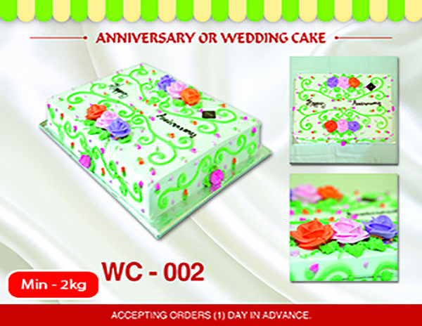 WC - 002 (Min 2kg)