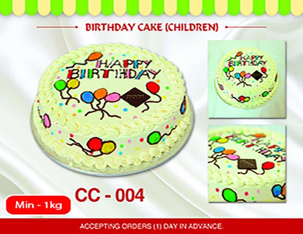 CC - 004 (Min 1kg)