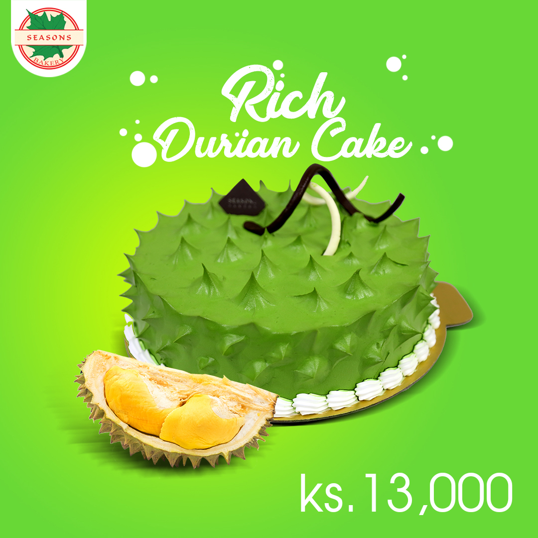 Rich Durian Cake